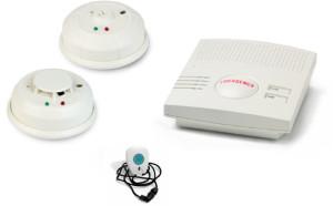 Bay Alarm Smoke Detector